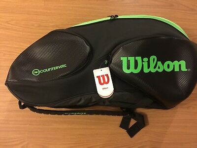 One New Wilson Countervail 12 Pack racquet bag