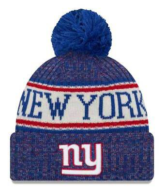New Era 2018 NFL New York Giants Sport Stocking Knit Hat Winter Beanie 11768175