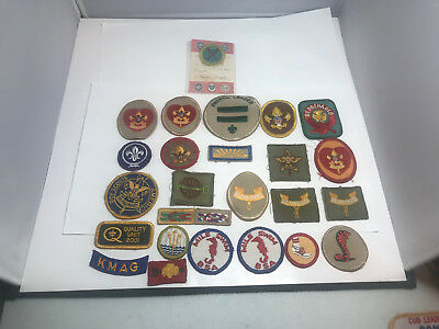 25 Lot of BSA  Patches Boy Scouts Cub Scouts?