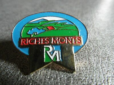 Rare Pins Pin's - Riches Monts - Fromage - Nature - Label - Raclette