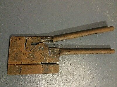 Rare Vintage Guillotine  Hand Tool Fibro Cutter