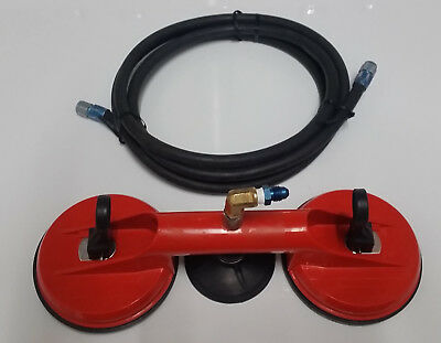 Aircraft Static port test adapter with 6 feet of hose.