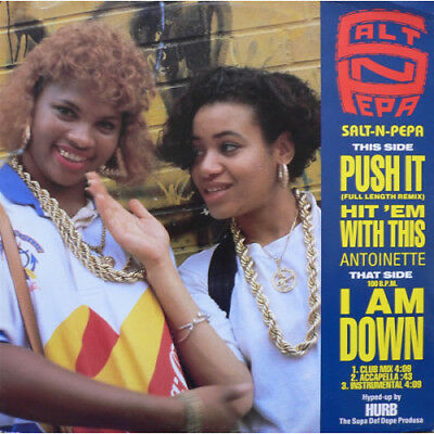 "SALT-N-PEPA / ANTOINETTE Push It / Hit 'em With This / I Am Down 12"" VINYL"