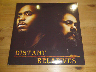 "NAS & DAMIAN/ JR. GONG MARLEY: Distant Relatives, GY0060, 12""/ DOUBLE LP, MINT!"