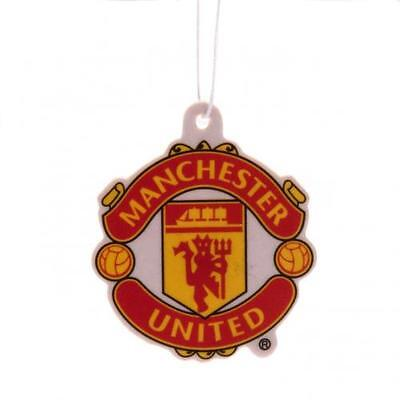 MANCHESTER UNITED FC Car Air Freshener - Licensed Official Merchandise Free P&P