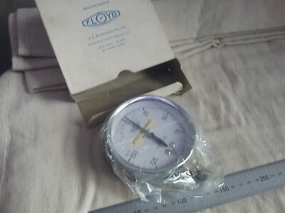 Floyd Compound Pressure Gauge -30 to 150lb/in2 100mm Dia.