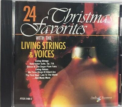 Christmas Favorites With The Living Strings & Voices CD
