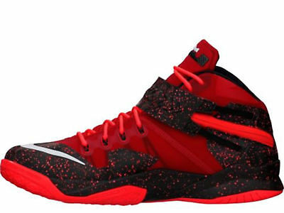 9553153f6c23 NIKE ZOOM LEBRON Soldier VIII Men s University Red Basketball 688579 ...