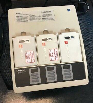 Medtronic Physio Control Battery Support System 2 Battery Charger