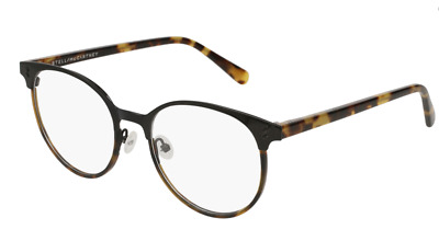 42c31745ff Stella McCartney SC0145O 003 Eyeglasses Black Havana Tortoise Frame 52mm