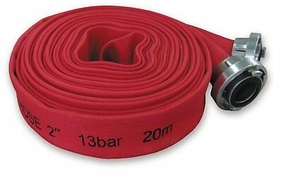 Layflat WLPH1330020Hose Premium 3Inch With B-Storz Connector 20m 13Bar Red/2