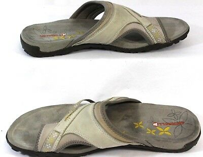 5e89690fc6a5 Merrell Silver Lining Flip Flop Outdoor Shoes Size 11 Women s Select Fresh  Grip