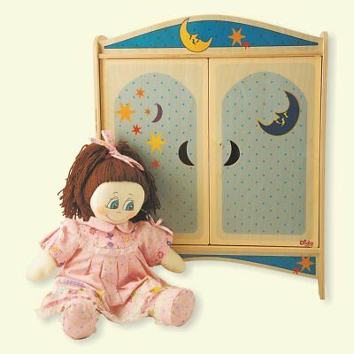 DIDA Locker of wooden dolls with hangers - decoration: Moon