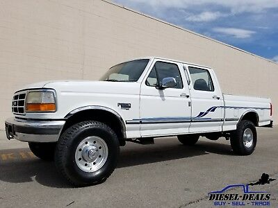 1997 Ford F-250 XLT ONLY 101K! 1997 FORD F250 CREW CAB SHORTBED 4X4 5 SPEED 7.3 POWERSTROKE DIESEL