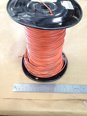 Est.( 1000' Spool ) Orange (18Awg) Solid Hook Up Wire
