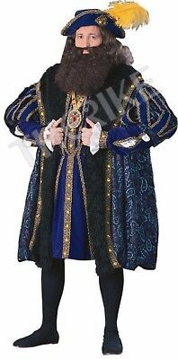 Henry Viii Costume The King Monarch Emperor New Clothes Renaissance Hq 90901