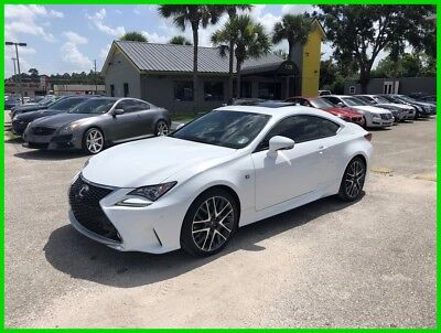 Lexus RC  2015 Used 3.5L V6 24V Automatic RWD Coupe Premium