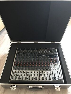Behringer Xenyx X2222USB Mischpult, Mixer inkl. Koffer ++top++