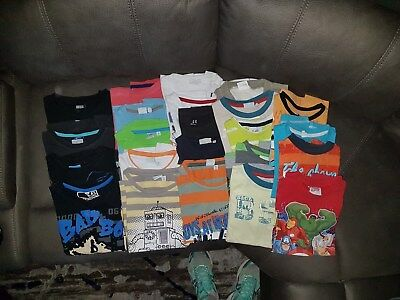 boys bulk summerclothing Preloved size 5 and 6