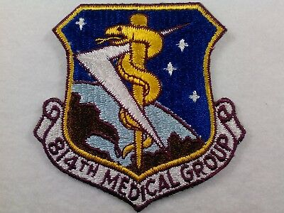 U.s.a.f...814Th Medical Group. From The 70's, Old New Condition, Large Patch