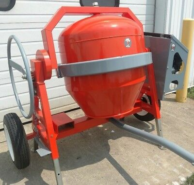 Champ Equipment Mfg C5000 Honda concrete cement mixer 16 CF gas gasoline powered