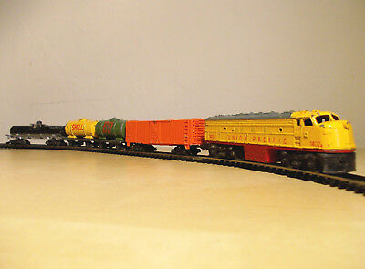 "Lone Star Locos Spur N ""brit. Schiebetrix "" Zug Union Pacific Top Zustand !"