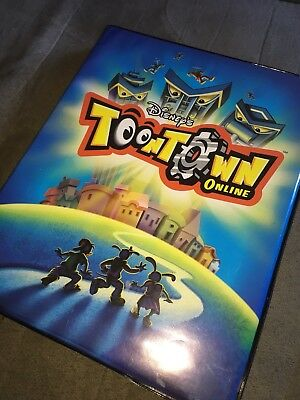 Disney's Toontown Online Trading Cards with Booklet! 60+ CARDS!