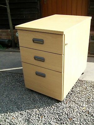 Office Pedestal 3 Drawers Chest Drawer