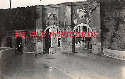 GIBRALTAR,  Southport Gate,  Real Photo
