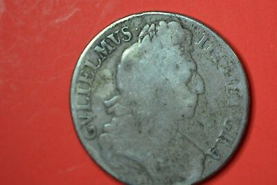 United Kingdom William III crown around 1690. Low grade.28,9gr;38mm.Silver