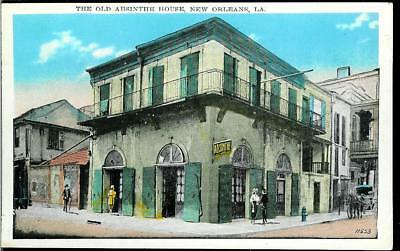 Vintage Postcard of the Old Absinthe House in New Orleans, Louisiana LA Unmailed