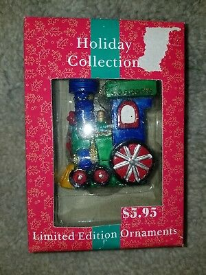 Holiday Ornament Toy Train Christmas Decoration