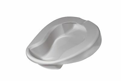Drive Medical Contoured Plastic Bed Pan, Grey!A3