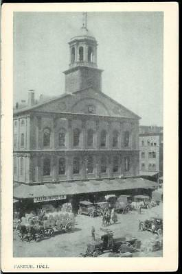 Vintage Postcard of Faneuil Hall in Boston, Massachusetts MA Unmailed