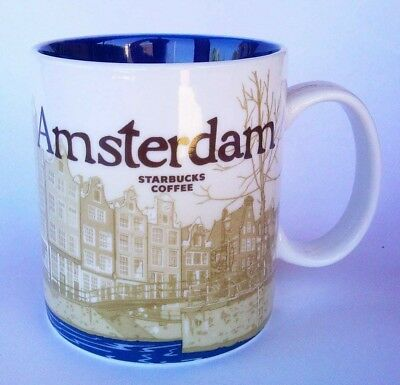DISCONTINUED -- STARBUCKS Mug City Icon Collector Series - AMSTERDAM