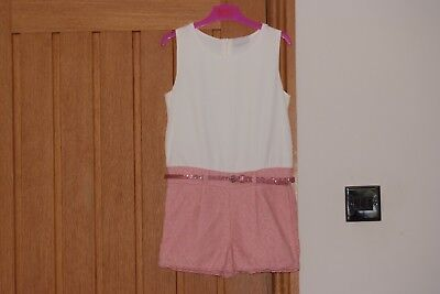 Girls MATALAN Shorts Playsuit - age 9yrs - Excellent condition