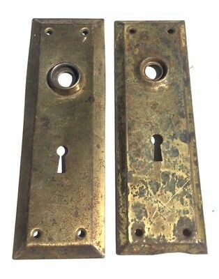 VINTAGE DOOR KNOB BACKPLATES - Set of 2