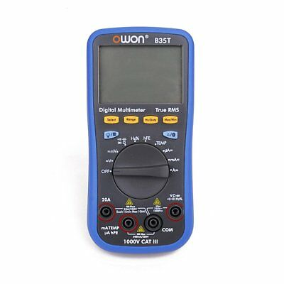 OWON B35T 3 5/6 Digital Multimeter with Bluetooth True RMS Multifunction Meter A