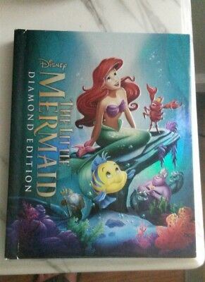 The Little Mermaid (Blu-ray, 2013, Diamond Edition) Target Exclusive Digibook