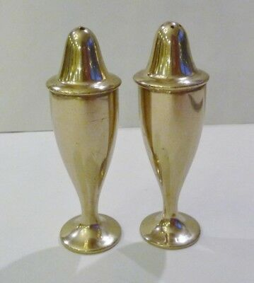 Vintage Dirigold Dirilyte Goldenware Serving Salt Pepper Shaker