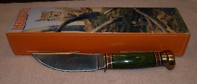 USA Marbles knife Woodcraft D/B Trout Unlimited