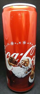 Russia - empty collection pot 330 ml Cola-Cola (with Santa Claus) - 2