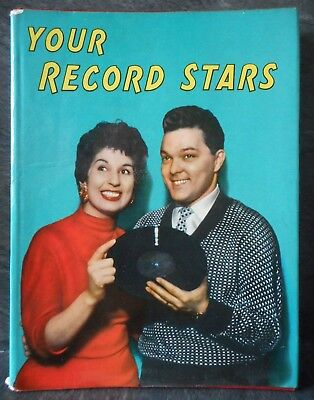 Your Record Stars Annual 1956 1957, pop star features and photos hardback book