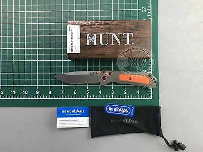 "Benchmade Hunt 15061 Grizzly Ridge 3.5"" S30V Folding Knife Grivory Handle DEALER"