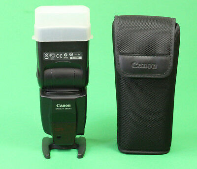 Canon 580EX II Speedligh Flash Unit. Sold with Case, Diffuser & Stand. EXCELLENT