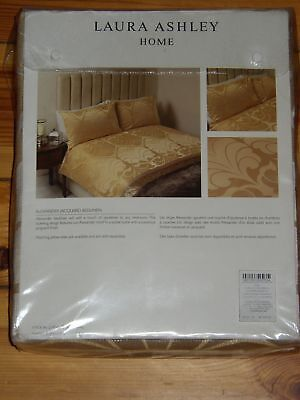 Laura Ashley Bettwäsche 260 X 220 Cm Neu In Ovp Alexander Gold Royal Jacquard