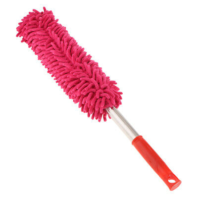 Microfiber Hand Duster Cleaner Brush for Cleaning Car Computer TV Table Red