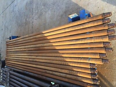 USED HDD Drill Pipes For Vermeer 16x20 Brand NEW (Bundle 10 Rods) FSI Compatible