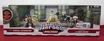Star Wars Galacic Heroes 8 Pack - Toys R Us Exclusive - Episode Iv - 2009