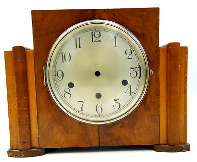 1920s  Burr Walnut wood case for mantle clock
